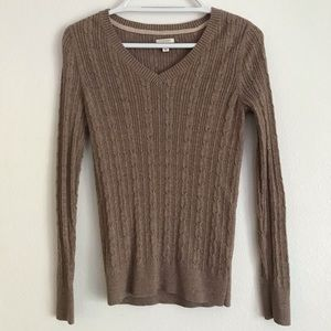 Sonoma Lifestyle XS Light Brown Sweater